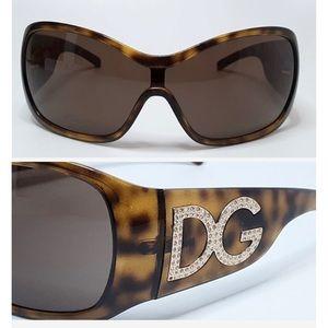 Dolce and Gabbana tortoise shell sunglasses